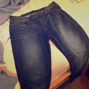 Banana Republic Men Blue Jeans - Slim Fit 34x30